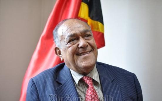 Heroic envoy to Korea dies in East Timor
