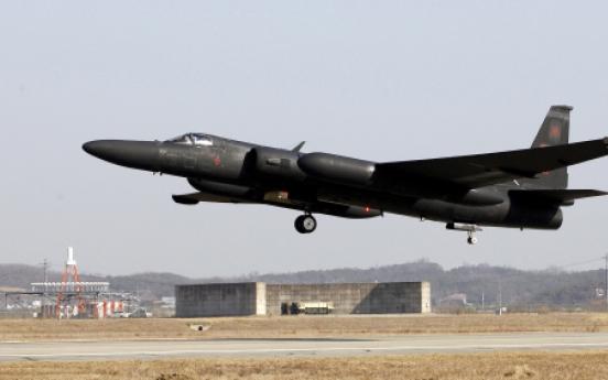 U-2 spy planes keep watch on N. Korea