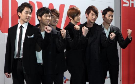 Shinhwa hopes to remain Korea's longest-running boy band