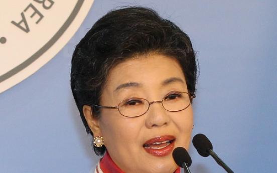 Saenuri leader's sister may run in April election