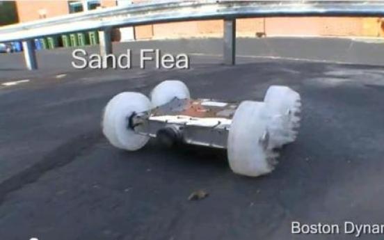 Spy robot can jump 30 feet straight up