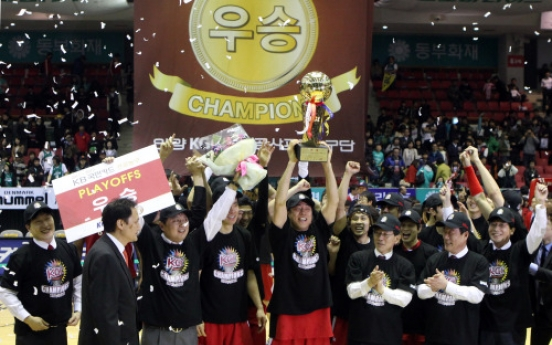 Anyang KGC claims KBL title