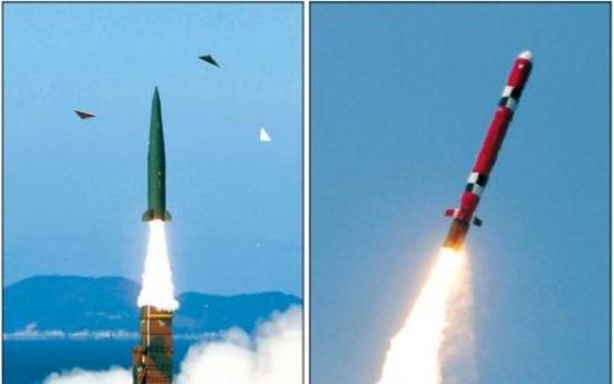 Military unveils strategic missiles