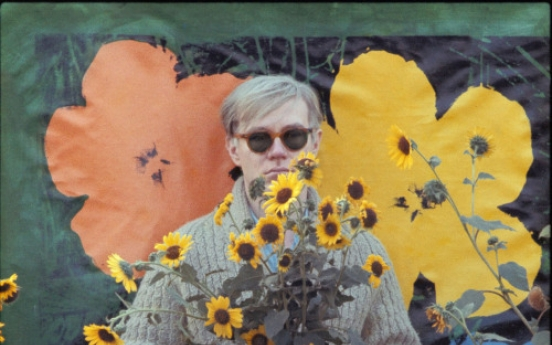 NYC photo exhibit captures Andy Warhol as young artist