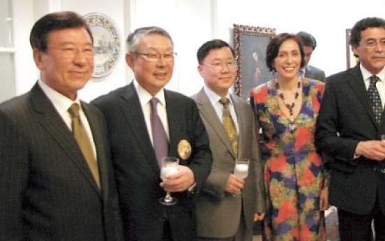 Korean awarded for work with Peru