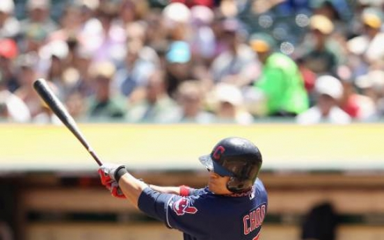 A's avoid Tribe sweep