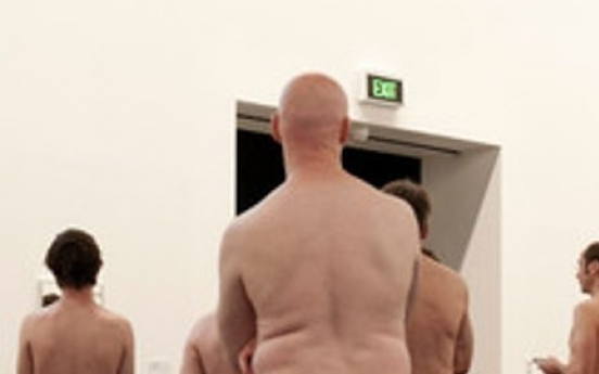 See art, be art: Visitors to strip at Sydney museum
