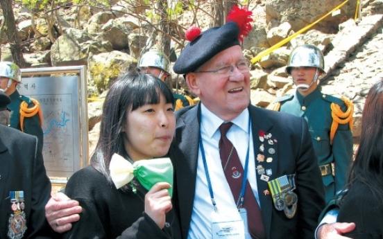 British veterans return to remember Korean War