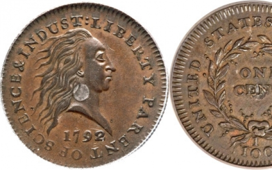 1792 penny sells for $1,150,000