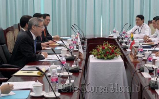 Seoul explores new fronts in Myanmar ties