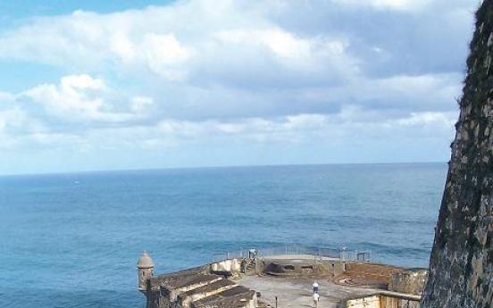 San Juan's walls are full of history