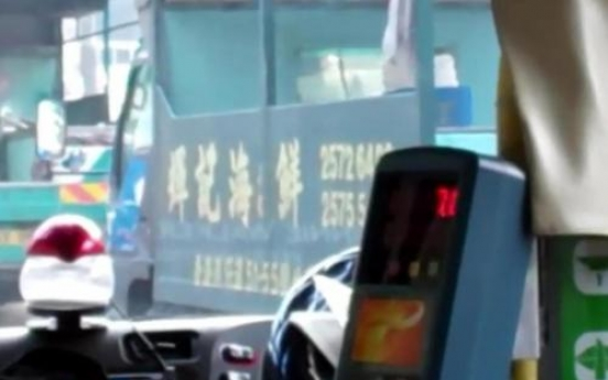 A YouTube video reveals amazing multi-tasking by bus driver
