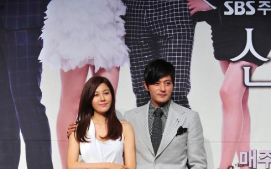 Jang Dong-gun gets first 'proper' kiss scene