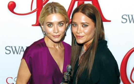 Olsen twins get fashion's big prize