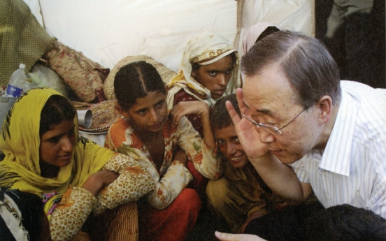 U.N. chief Ban Ki-moon ins Seoul Peace Prize