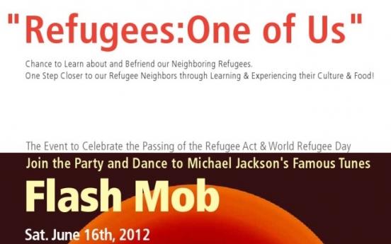Seoul celebrations for Refugee Day