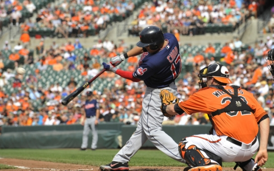 Choo powers Indians in 11-5 win