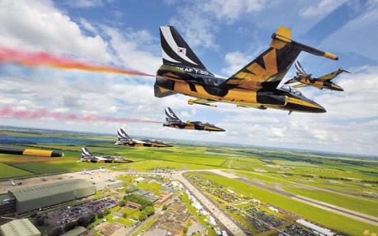 Air shows brighten T-50 prospects