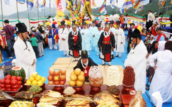 Beopseongpo Danoje designated as important intangible cultural asset