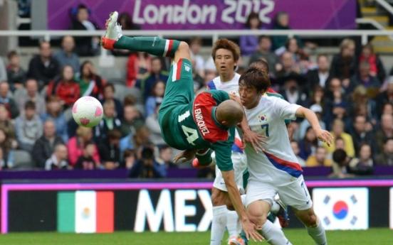 S. Korea draws Mexico in football opener at London Olympics