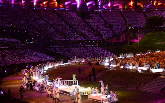 Opening ceremony grapples with social issues