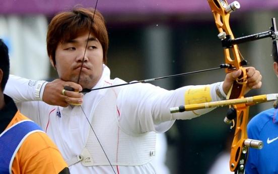 S. Korea men, women earn high seeds in archery