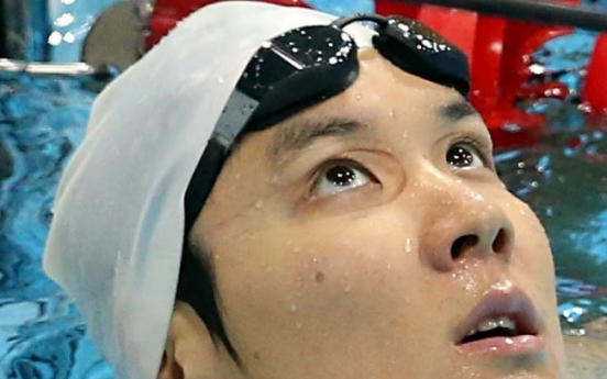 Swimmer Park Tae-hwan to lead potential golden day