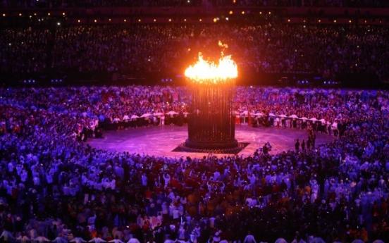 [Photo] Olympic opening ceremony