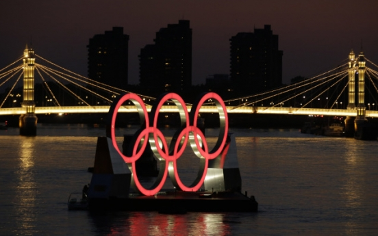 [Photo] Olympic Rings