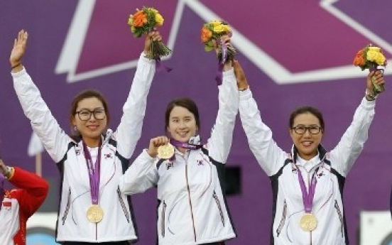 S. Korea wins seventh straight gold in women's team archery