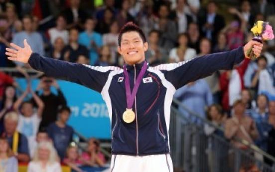 Judoka Kim Jae-bum wins gold