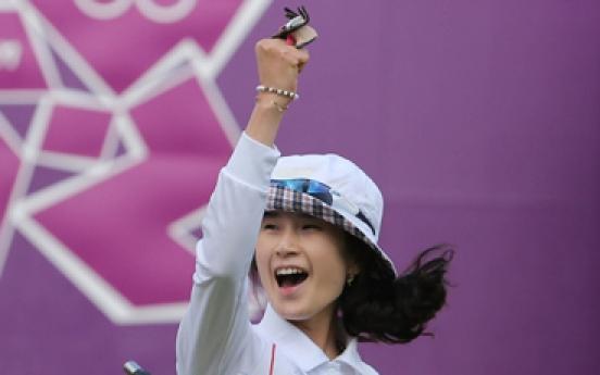 Ki Bo-bae wins gold in women's archery