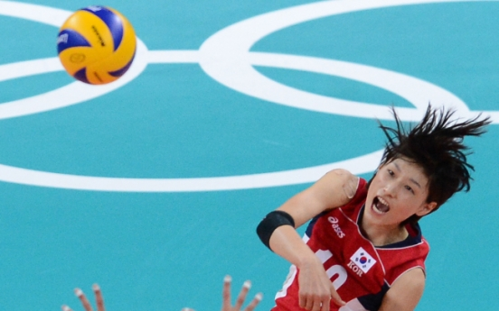 Korea reaches Olympic volleyball semifinals