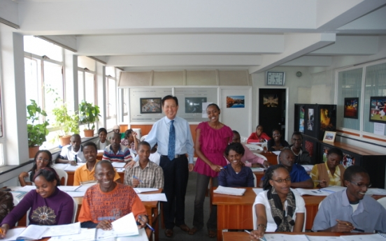 Retired colonel's unfinished teaching job in Kenya