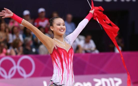 Son Yeon-jae finishes fifth in rhythmic gymnastics