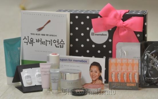 Beauty boxes bring cosmetics bounty