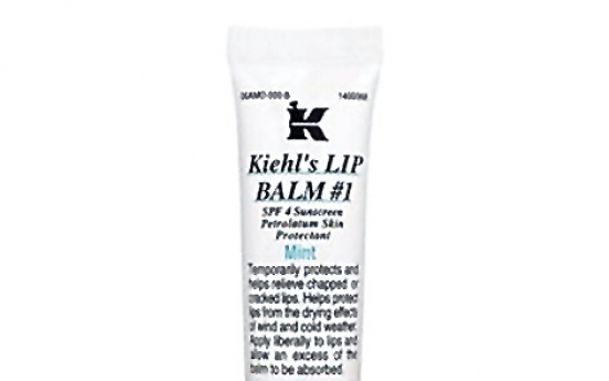 Kiehl's lip balm found to contain mercury