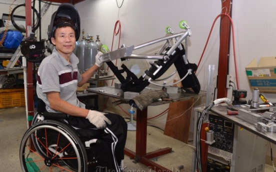Wheelchair maker gives hope to disabled