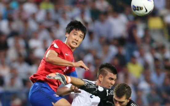S. Korea held to draw by Uzbekistan in World Cup qualifier