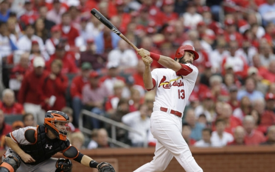 Carpenter leads Cardinals to win