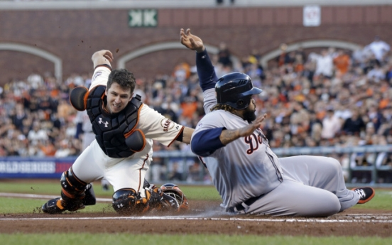 Giants shut out Tigers
