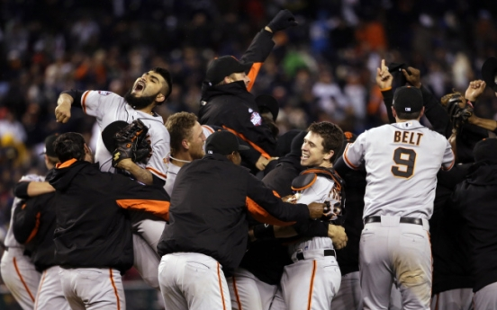 It's a Giants World after all