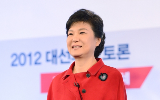 Park sells policies for middle class in TV forum