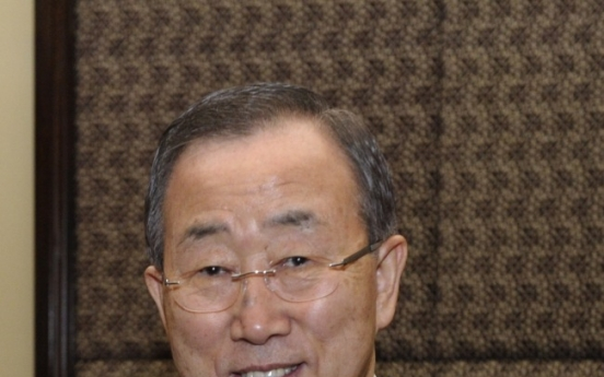 U.N. chief Ban to receive Olympic Order from IOC