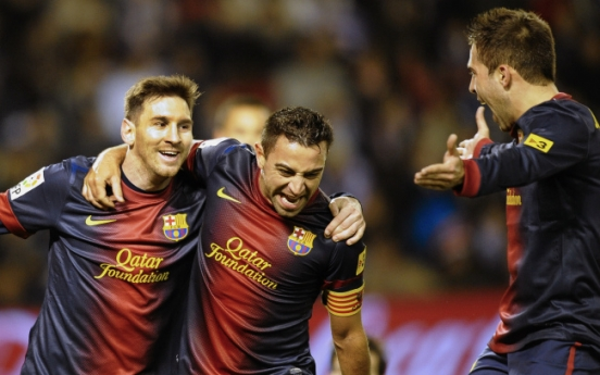 Messi ends year with 91 goals