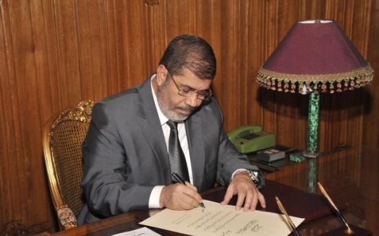 Egypt's Morsi: Constitution dawn of a new republic