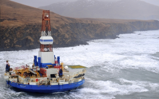 Critics say grounding shows Arctic drilling danger