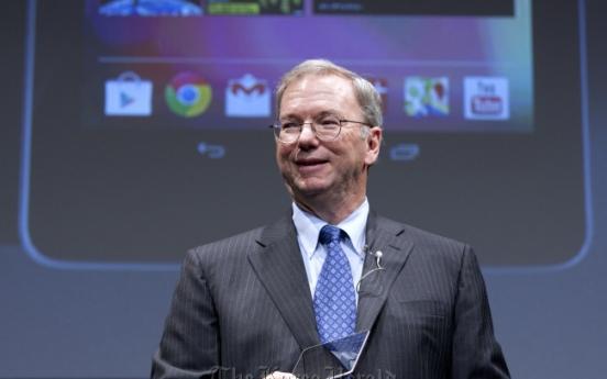 [Newsmaker] Google's Schmidt may visit N.K.