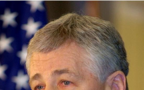[Newsmaker] Obama's Pentagon pick faces fight