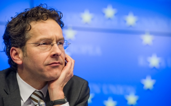 [Newsmaker] Dijsselbloem out to spur euro recovery